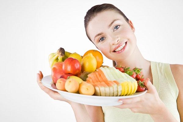 Sạch mụn da và mối liên hệ với chế độ dinh dưỡng